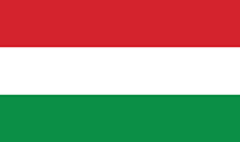 The red-white-green flag of Hungary
