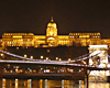 Cruise by night in Budapest